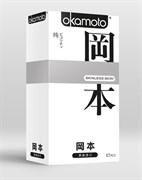 Презервативы OKAMOTO Skinless Skin Purity Классические, телесного цвета, 10шт.