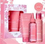 Весенний набор для волос (шампунь+маска+филлер) LADOR BLOSSOM EDITION