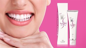 Отбеливающая зубная паста с наногидроксиапатитом (для курильщиков) Apagard Smokin 50 гр