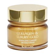 Крем для упругости кожи с коллагеном и золотом 3W CLINIC Collagen & Luxury Gold Cream 100ml