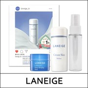 Набор миниатюр LANEIGE Cream Skin Refiner 50ml + Water Bank Sleeping Mask 15ml + Mist Bottle 30ml