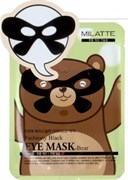 Маска от морщин вокруг глаз MILATTE FASHIONY BLACK EYE MASK-BEAR 10г