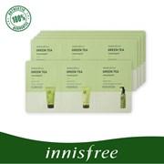 Набор пробников для очищения кожи INNISFREE Green Tea Cleansing Kit