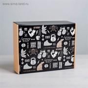 Складная коробка «Брутальность», 27 × 21 × 9 см 4824056
