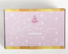 Коробка‒пенал «Пусть зима приносит радость», 22 × 15 × 10 см 4429455