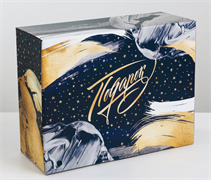 Коробка‒пенал «Космический подарок», 30 × 23 × 12 см 3907230