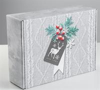 Коробка складная «Тепла и уюта», 30.7 × 22 × 9.5 см 4429439