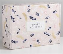 Складная коробка «Счастья», 30,7 × 22 × 9,5 см 5010508