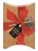 Коробка сборная фигурная «Подарок», 19 × 14 × 4 см
