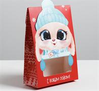 Коробка складная «Это тебе», 15 × 7 × 22 см