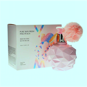 Нежный увлажняющий крем для рук с ароматом свежего персика YNM YOU NEED ME Pure Skin Fresh Pink Peach Hand Cream 100ml