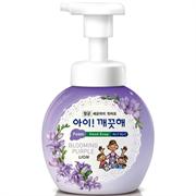 Пенное мыло для рук CJ LION Ai - Kekute Аромат фиалки, с антибактериальным эффектом, флакон, 250 мл