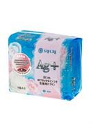 Гигиенические прокладки Sayuri Argentum+ с ионами серебра, супер, 24 см, 9 шт/упак.
