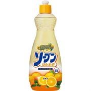 Жидкость для мытья посуды овощей и фруктов Kaneyo сладкий апельсин 600 мл