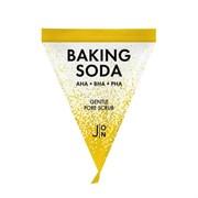 Скраб-пилинг для лица СОДОВЫЙ J:ON Baking Soda Gentle Pore Scrub 5г пирамидка