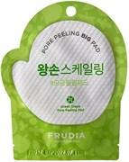 Отшелушивающий диск для лица с зеленым виноградом FRUDIA Green Grape Pore Peeling Big Pad