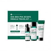 Мини набор для проблемной кожи с кислотами SOME BY MI AHA, BHA, PHA 30 Days Miracle Travel Kit