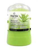 "Кристаллический дезодорант Narda Mineral deodorant aloe vera ""Алоэ вера"" 45 гр"