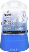 "Кристаллический дезодорант Narda Mineral deodorant natural ""Натуральный"" 80 гр"