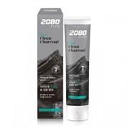 Отбеливающая зубная паста с углем Aekyung 2080 Black Clean Charcoal Toothpaste(120 гр)
