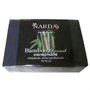 Черное бамбуковое мыло Narda Charcoal Bamboo 100 гр