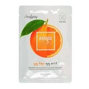 Маска для лица освежающая с апельсином Welcos Kwailnara Orange Purifying Facial Mask