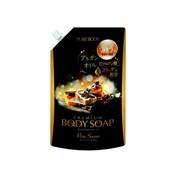 Крем-мыло увлажняющее с ароматом дорогого мыла, с аргановым маслом, гиалуроновой кислотой и коллагеном Mitsuei МУ 840 мл