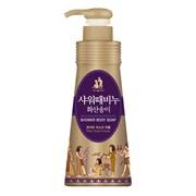 Гель-эксфолиант для душа с минералами и АНА-кислотами с вулканической лавой MKH Jeju White Musk Shower Body Soap 900ml