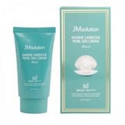 Солнцезащитный крем с морскими минералами JM Solution Marine Luminous Pearl Sun Cream 50 ml