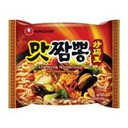 """Лапша """"Champong Noodle Soup"""" острая со вкусом морепродуктов, 130гр (мягк.уп)"""