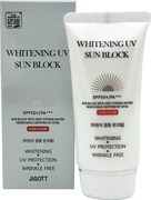 Осветляющий солнцезащитный крем для лица JIGOTT Whitening UV Sun Block Cream SPF50+ PA+++ 70мл