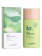 Солнцезащитный гель-молочко The Saem Jeju Fresh Aloe Sun Gel SPF50+ PA++++