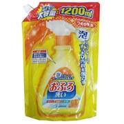 Средство NIHON чистящее для ванной аромат цитруса спрей-пена 1200 мл мягкая упаковка