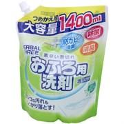 Пенящееся чистящее средство для ванной Mitsuei с антибактериальным эффектом (с цветочно-травяным ароматом, для флаконов с распылителем) 1400мл