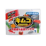 Желеобразный дезодорант с древесным углем для основной камеры холодильника KOBAYASHI Kimco Refrigerator Deodorizer, 113г.