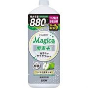"""Концентрированное средство для мытья посуды с ароматом зелёных яблок LION """"Charmy Magica+"""" 880 мл"""