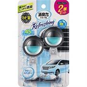 Освежитель воздуха для автомобильного кондиционера с освежающим ароматом зелени и сквоша ST 2 шт х 3,2 мл