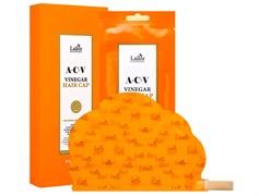 Маска-шапка для волос с яблочным уксусом LADOR ACV VINEGAR HAIR CAP 30г