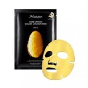 Премиум-маска с экстрактом золотого шелкопряда JM Solution Water Luminous Golden Cocoon Mask Black