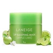 Ночная маска для губ Laneige Lip Sleeping Mask 8г Apple lime (из набора поштучно)