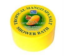 Солевой спа-скраб для тела Yoko Tropical Mango Spa Salt Shower Bath 240 гр