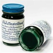 Традиционный тайский бальзам для тела Зеленый Osotthip 120 г