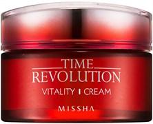 Интенсивный антивозрастной крем для лица MISSHA Time Revolution Vitality Cream 50мл