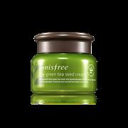 Интенсивный увлажняющий крем на основе семян зеленого чая Innisfree The Green Tea Seed Cream 50ml