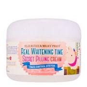 Пилинг-крем для лица осветляющий Elizavecca Real Whitening Time Secret Pilling Cream 100мл
