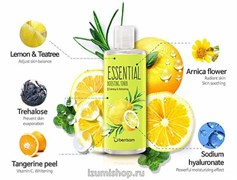 Тоник для лица Berrisom Essential Boosting Toner - TeeTree & Lemon 265ml
