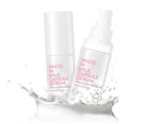 Сыворотка для лица осветляющая с молочными протеинами Berrisom G9 White In Milk Capsule Serum 50мл