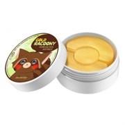 Патчи золотые гидрогелевые для кожи под глазами и проблемных участков SECRET KEY Gold Racoony Hydro Gel Eye (60шт) + Spot Trouble Patch (30шт)