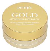 Гидрогелевые патчи для глаз с золотым комплексом Petitfee Gold Hydrogel Eye Patch (60шт)