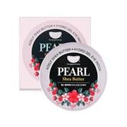 Патчи для сухой кожи вокруг глаз с маслом ши и порошком жемчуга Petitfee KOELF Pearl & Shea Butter Eye Patch (60 шт)